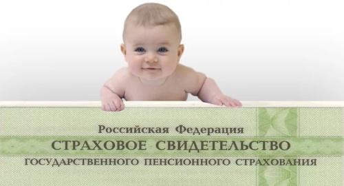 Как получить СНИЛС для новорожденного